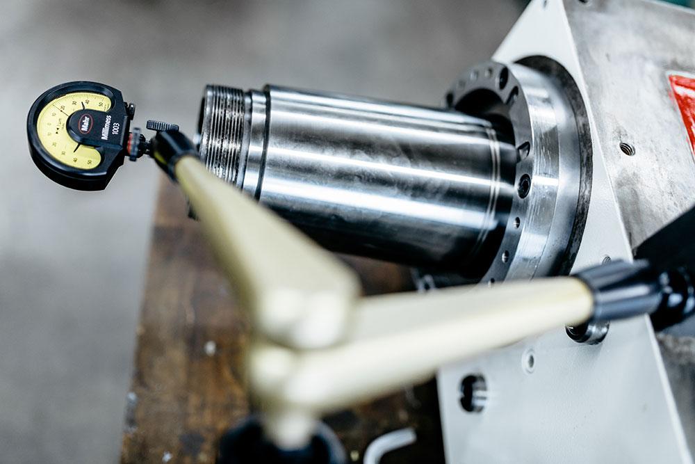 Baugruppenueberholung Schaudt Schleifspindelstock